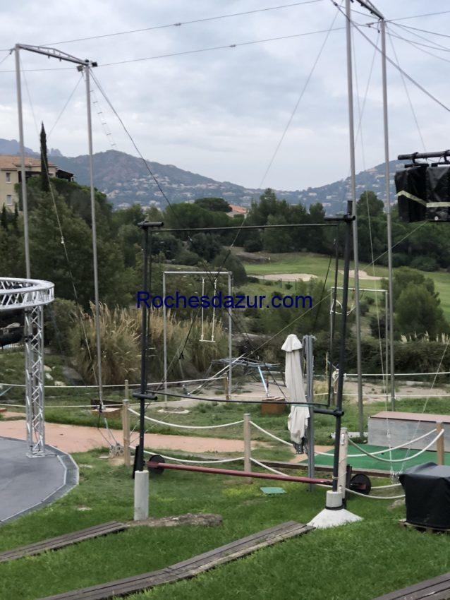Les trapèzes volants