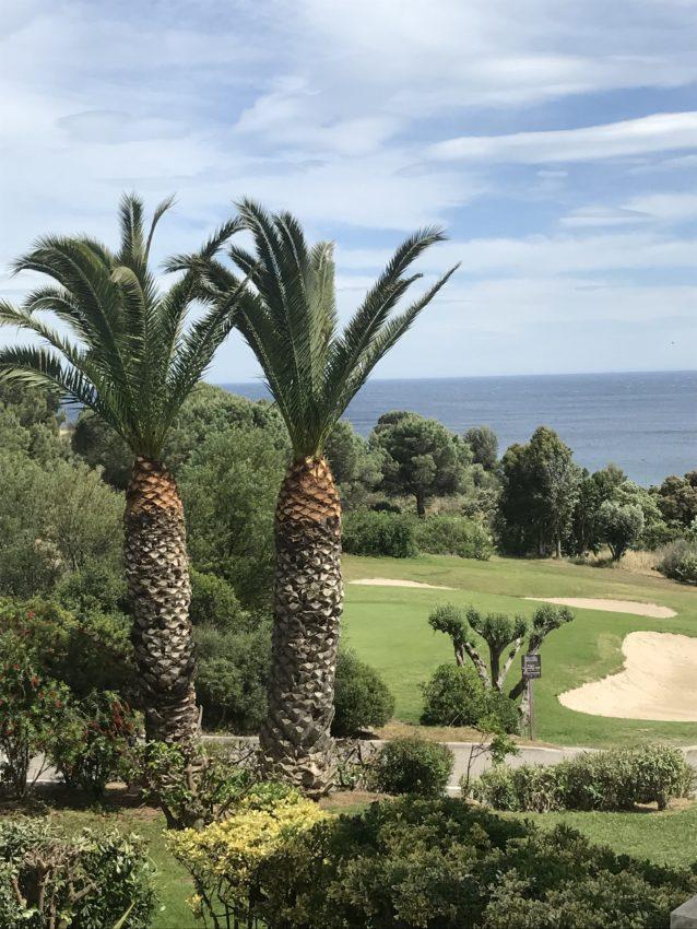 Vues golf et mer